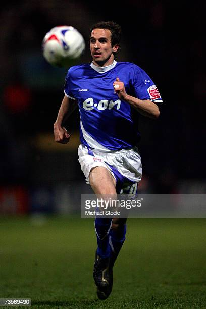 David Wright of Ipswich competes during the Coca-Cola Championship match between Preston North End and Ipswich Town at Deepdale on March 13, 2007 in...