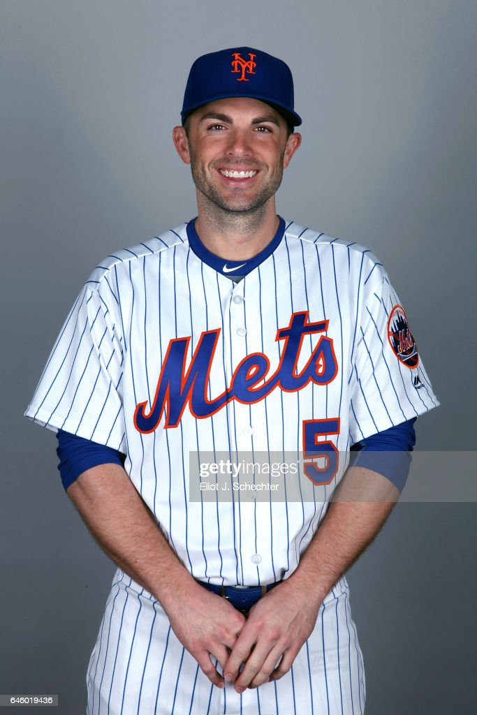 David Wright #5 of the New York Mets poses during Photo Day on Wednesday, February 22, 2017 at Tradition Field in Port St. Lucie, Florida.