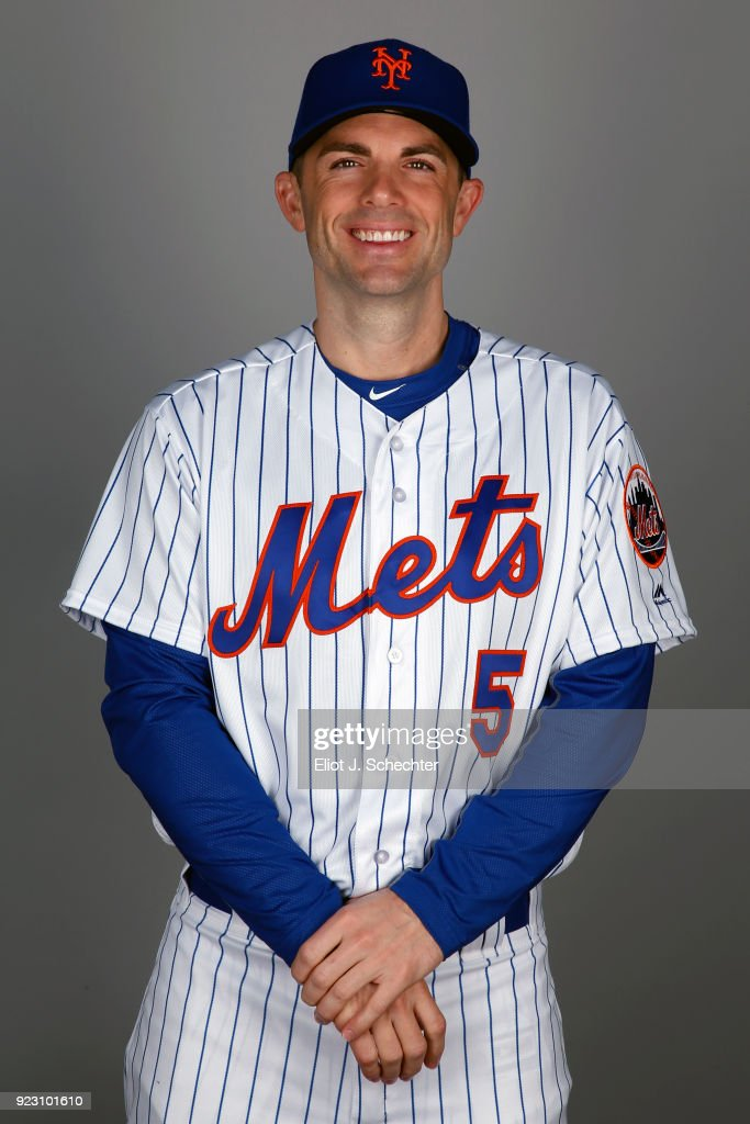 David Wright #5 of the New York Mets poses during Photo Day on Wednesday, February 21, 2017 at Tradition Field in Port St. Lucie, Florida.