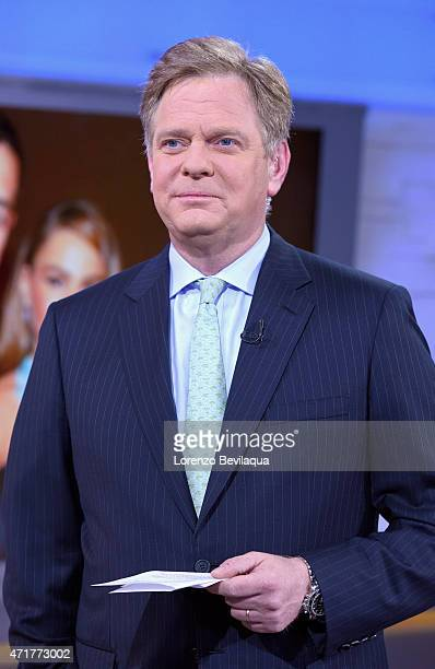 """David Wright on """"Good Morning America,"""" 4/30/15, airing on the Walt Disney Television via Getty Images Television Network."""