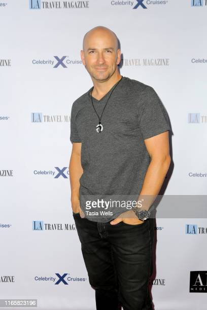 David Wrobel attends Los Angeles Travel Magazine's Endless Summer Issue Release Party at Penthouse on August 02, 2019 in West Hollywood, California.
