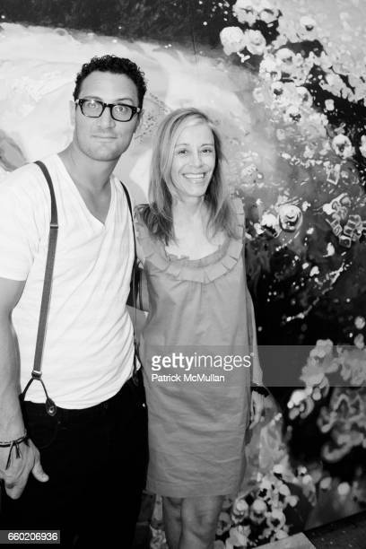 David X Prutting and Paige Powell attend MAC COSMETICS HOSTS PRIVATE ARTISTS' STUDIO CELEBRATION FOR MAKEUP ART COSMETICS COLLECTION at Marilyn...