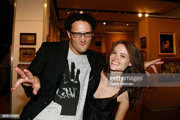 David Xavier Prutting and Kristina Ratliff attend 9th Annual Russian American Cultural Center Gala at Sotheby's on June 4 2007 in New York City