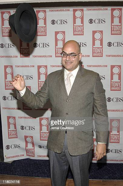 David Yazbek during 59th Annual Tony Awards 'Meet The Nominees' Press Reception at The View at The Marriot Marquis in New York City New York United...