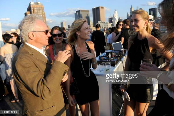 David Yurman Barbara Berger and Emily Senko attend DAVID YURMAN Annual Summer Rooftop Party at David Yurman on July 14 2009 in New York City