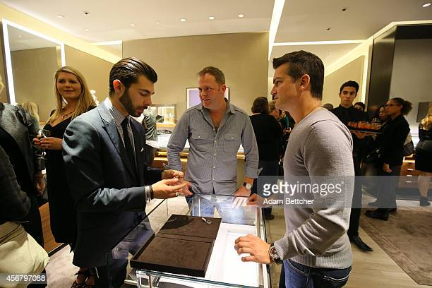 David Yurman InStore Shopping Event to celebrate the launch of the Men's Forged Carbon Collection hosted By Greg Jennings to Benefit the Greg...