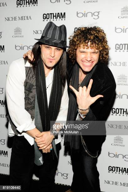 David Z and Paulie Z attend ALICIA KEYS Hosts GOTHAM MAGAZINES Annual Gala Presented by BING at Capitale on March 15 2010 in New York City