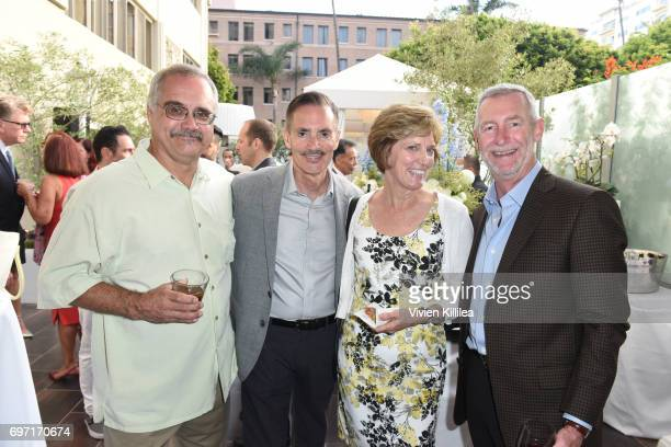 David Zawieja Research Network Executive Director William Repicci Christine Schlaht and Dennis Schlaht attend Academy Award Winner and LERN...