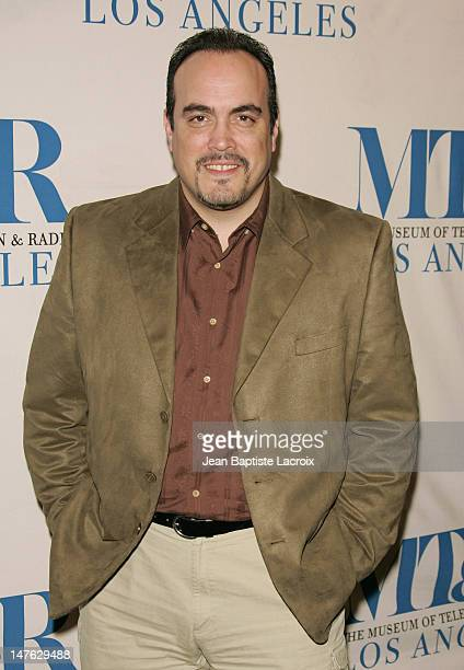 David Zayas during The 24th Annual William S Paley Television Festival An Evening with Dexter Arrivals at DGA in West Hollywood California United...