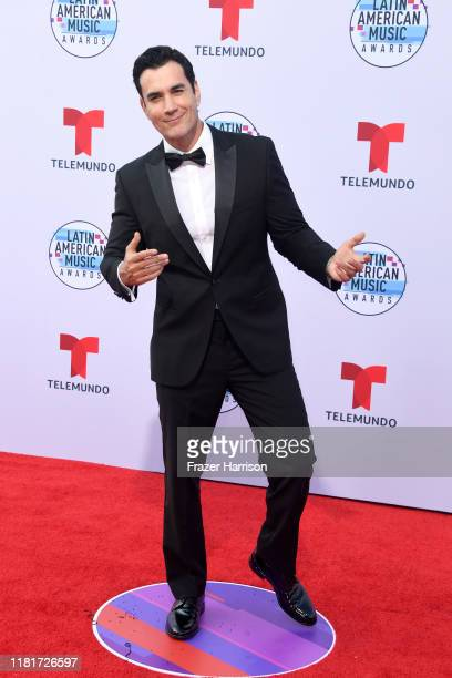 David Zepeda attends the 2019 Latin American Music Awards at Dolby Theatre on October 17 2019 in Hollywood California