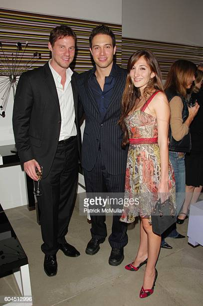David Zinczenco Eric Villency and Nicole Romano attend Launch of Carlos Mota for Villency Atelier hosted by Eric Villency and Margaret Russell at...
