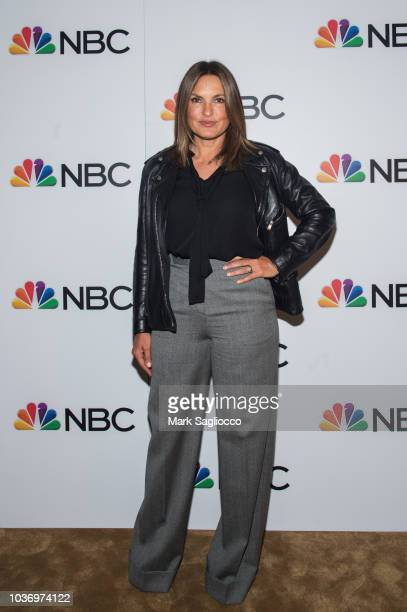 David Zinczenko and Shana Wall attend the NBC and The Cinema Society Party for the casts of NBC's 20182019 Season at the Four Seasons Restaurant on...