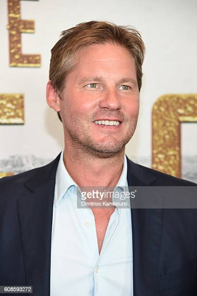 David Zinczenko attends The Magnificent Seven premiere at Museum of Modern Art on September 19 2016 in New York City