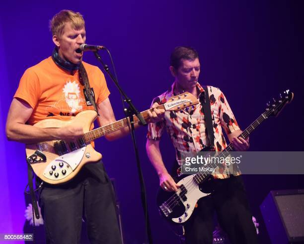 David Zwart and Jeff Matthews of Daisy perform during AthFest at Georgia Theatre on June 23 2017 in Athens Georgia