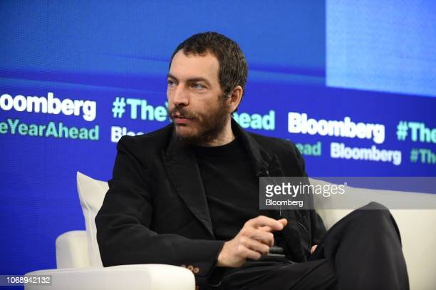Davide Agnelli managing director of Ideo Japan speaks during the Bloomberg Year Ahead summit in Tokyo Japan on Thursday Dec 6 2018 The summit...