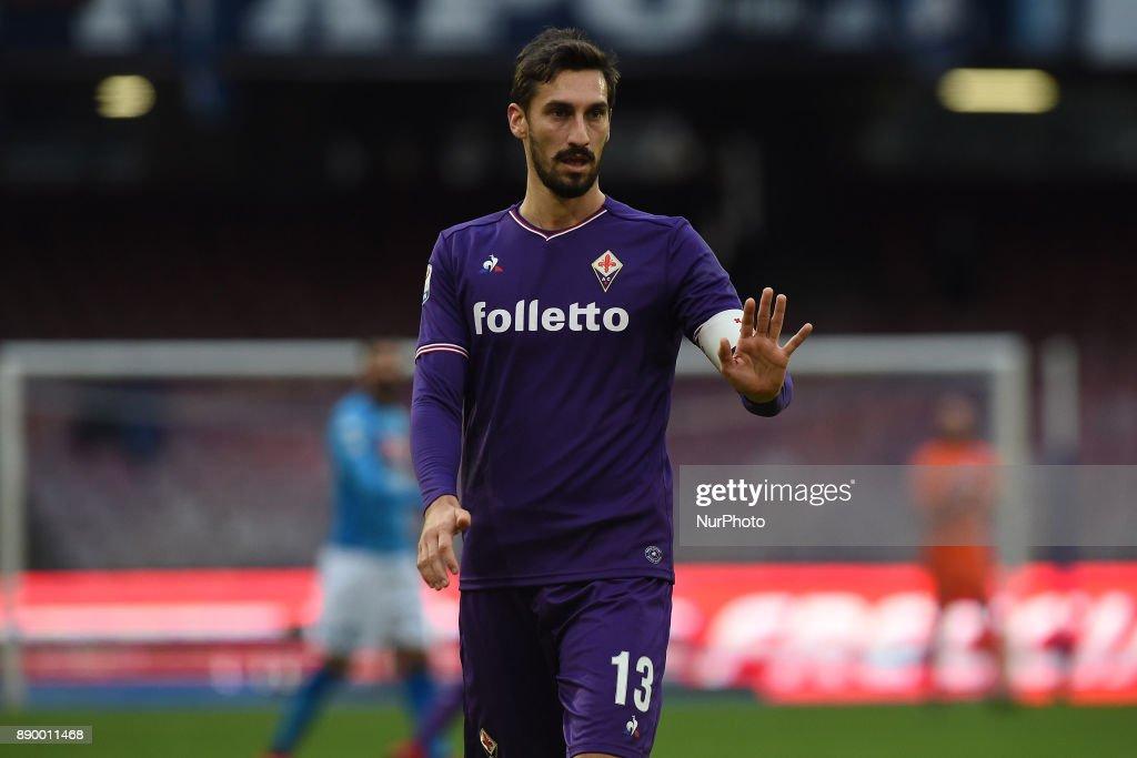 SSC Napoli v ACF Fiorentina - Serie A : Foto di attualità