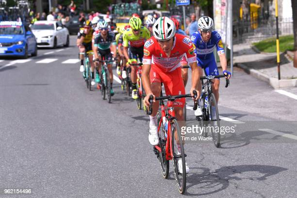 Davide Ballerini of Italy and Team Androni Giocattoli-Sidermec / during the 101st Tour of Italy 2018, Stage 18 a 196km stage from Abbiategrasso to...