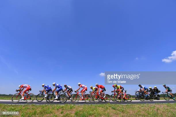 Davide Ballerini of Italy and Team Androni Giocattoli-Sidermec / Mattia Cattaneo of Italy and Team Androni Giocattoli-Sidermec / Christoph Pfingsten...