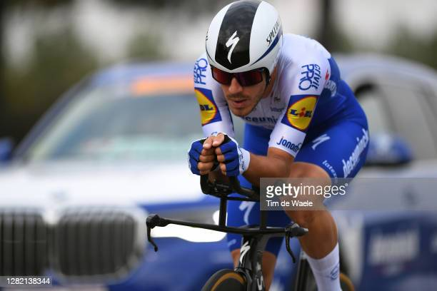 Davide Ballerini of Italy and Team Deceuninck - Quick-Step / during the 103rd Giro d'Italia 2020, Stage 21 a 15,7km Individual time trial from...