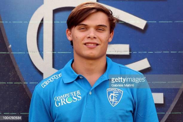 Davide Bertolini of Empoli U19 on July 23 2018 in Empoli Italy