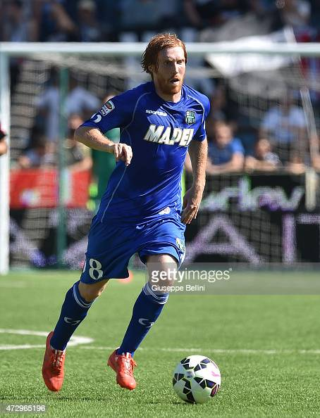 Davide Biondini of Sassuolo in action during the Serie A ...