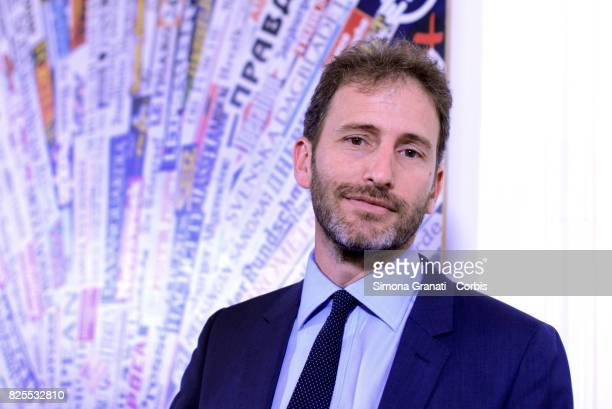 Davide Casaleggio And 5 Star Movement Presents New Version Of The Rousseau Platform To Foreign Media on August 2 2017 in Rome Italy