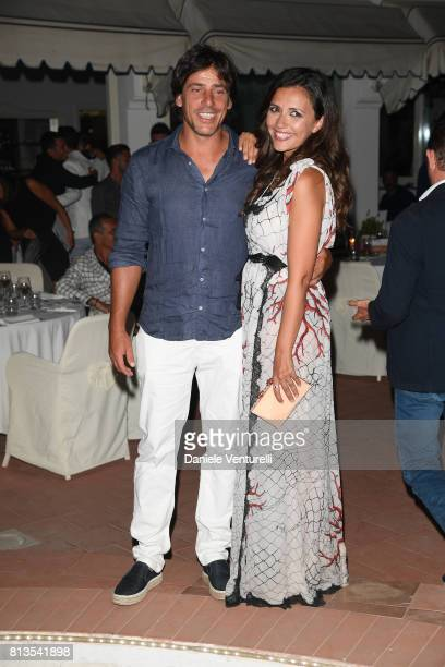 Davide Devenuto and Serena Rossi attends 2017 Ischia Global Film Music Fest on July 12 2017 in Ischia Italy
