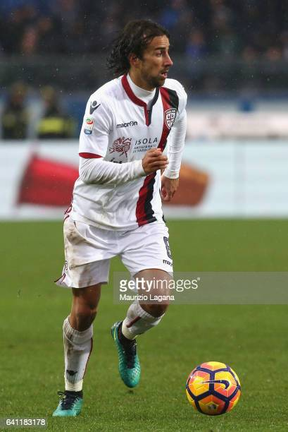 Davide Di Gennaro of Cagliari during the Serie A match between Atalanta BC and Cagliari Calcio at Stadio Atleti Azzurri d'Italia on February 5 2017...