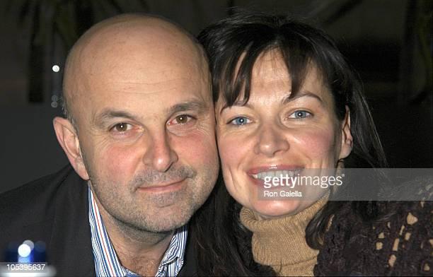 Davide Faccioli and Lucia DeBrilli during Dinner at Seagrill Restaurant at Seagrill Restaurant, Rockefeller Center in New York City, New York, United...