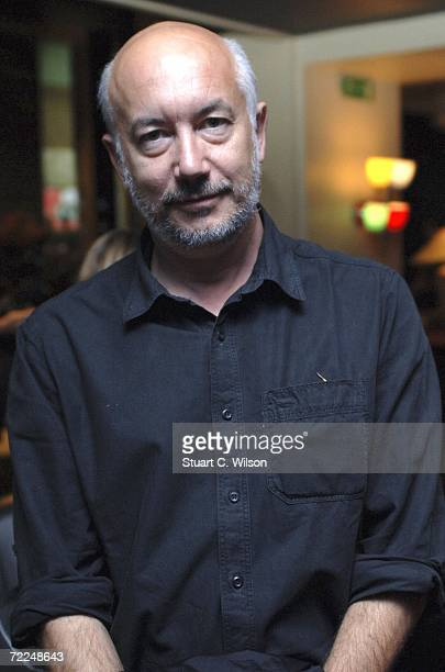 Davide Ferrario director of 'Primo Levi's Journey' attends the BFI Filmmakers Breakfast as part of The Times BFI 50th London Film Festival at the...