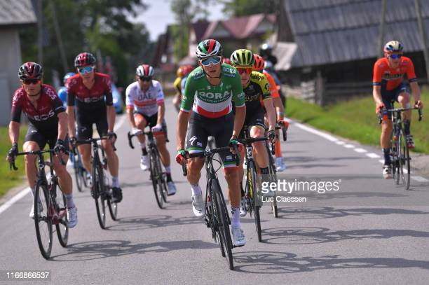Davide Formolo of Italy and Team Bora-Hansgrohe / during the 76th Tour of Poland 2019, Stage 6 a 160km stage from Zakopane to Koscielisko 973m /...