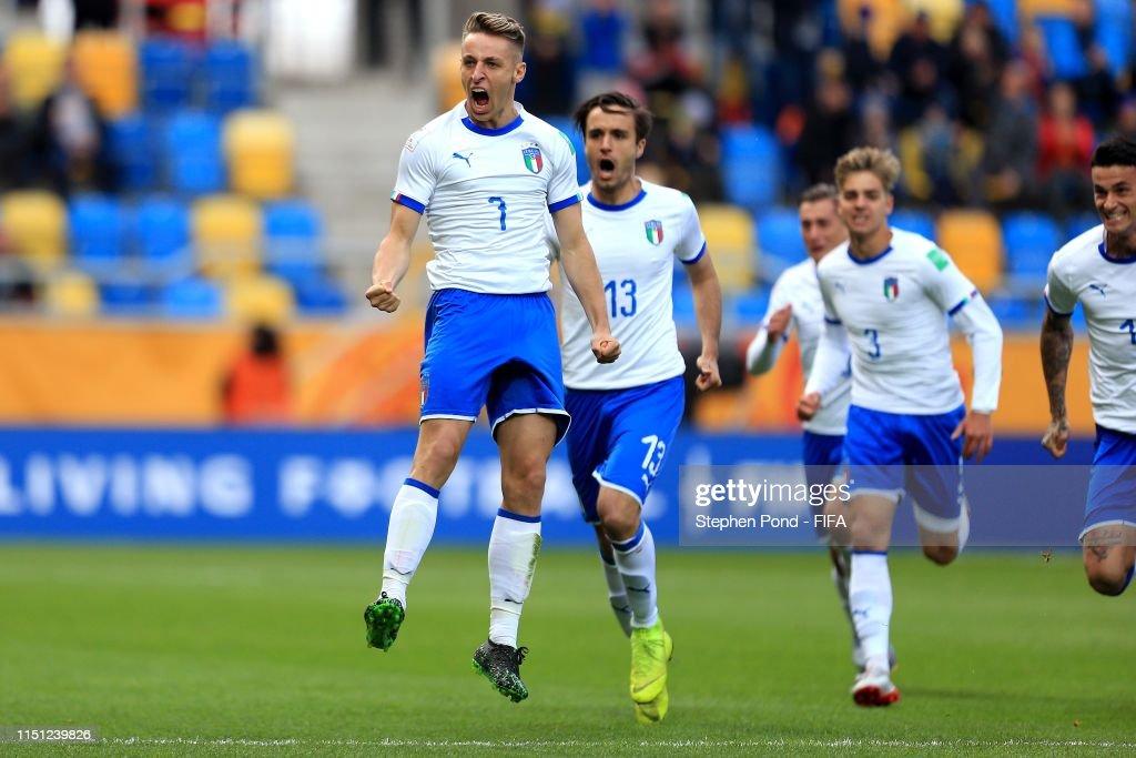 Mexico v Italy: Group B - 2019 FIFA U-20 World Cup : News Photo