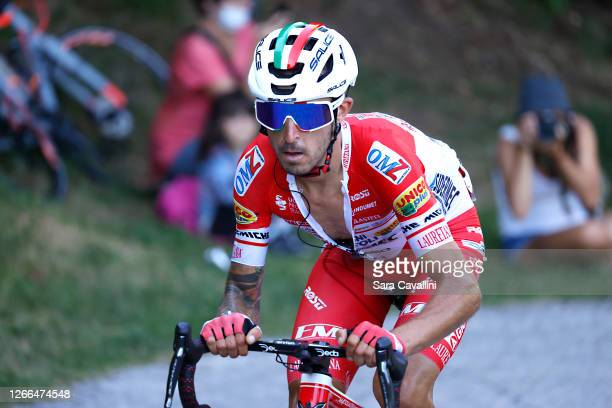 Davide Gabburo of Italy and Androni Giocattoli-Sidermec in action during the 114th Il Lombardia 2020 on August 15, 2020 in Como, Italy.