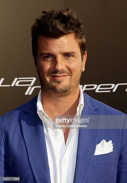 Davide Lippi attends A Casa Di Lapo cocktail party as part of Milan Fashion Week Menswear S/S 2011 on June 18 2010 in Milan Italy