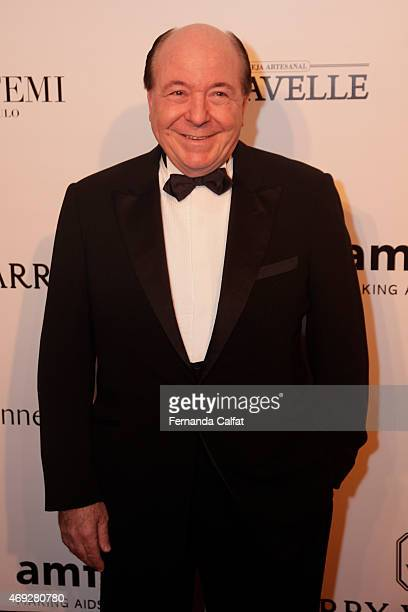 Davide Marcovich attends the 5th Annual amfAR Inspiration Gala at the home of Dinho Diniz on April 10 2015 in Sao Paulo Brazil