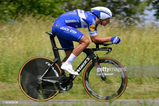 Davide Martinelli of Italy and Team DeceuninckQuick Step / during the 89th Baloise Belgium Tour 2019 Stage 3 a 92km Individual Time Trial from...