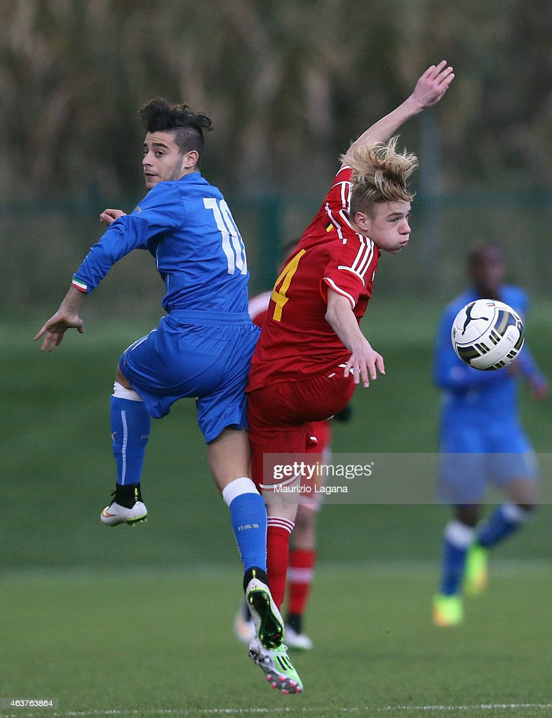 Italy U15 v Belgium U15 - International Friendly : ニュース写真