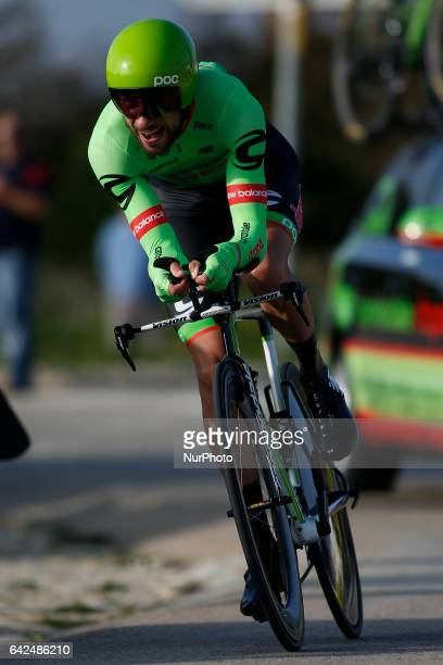 Davide of CANNONDALE DRAPAC PROFESSIONAL CYCLING TEAM during the 3rd stage of the cycling Tour of Algarve in Sagres on February 17 2017