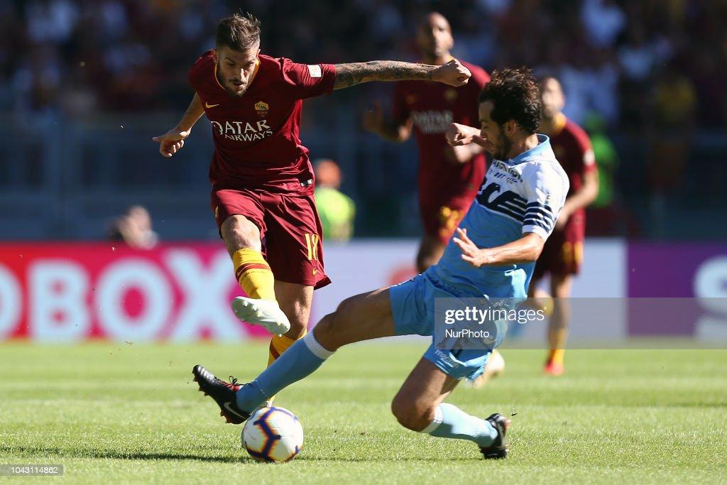 AS Roma v SS Lazio - Serie A : News Photo