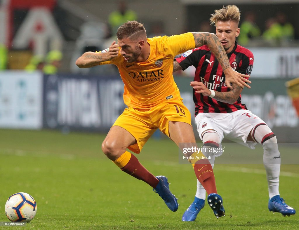 AC Milan v AS Roma - Serie A : News Photo