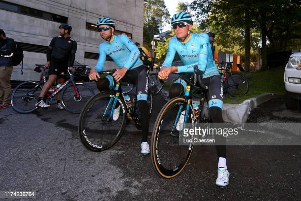 Davide Villella of Italy and Astana Pro Team / Andrey Zeits of Kazakhstan and Astana Pro Team / during the 10th Grand Prix Cycliste de Montreal...