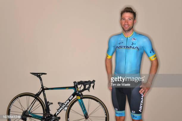 Davide Villella of Italy and Astana Pro Team / Argon 18 Bike / on December 17 2018 in Altea Spain