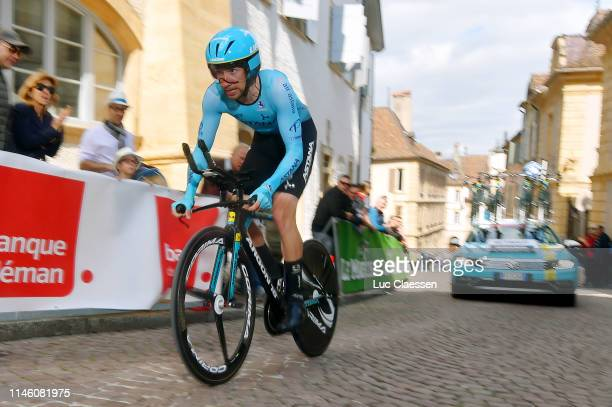 Davide Villella of Italy and Astana Pro Team / Cobblestones / during the 73rd Tour de Romandie 2019 Prologue a 387km Individual Time Trial from...