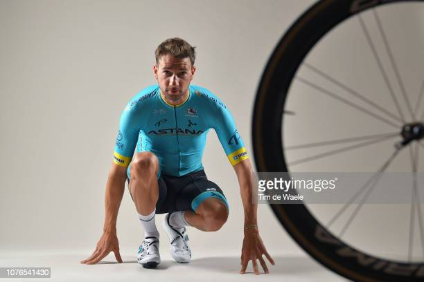 Davide Villella of Italy and Astana Pro Team / Corima Wheel / Silhouette / Detail view / on December 17 2018 in Altea Spain