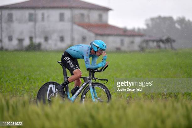 Davide Villella of Italy and Astana Pro Team / during the 102nd Giro d'Italia 2019 Stage 9 a 348km Individual Time Trial from Riccione to San Marino...