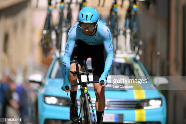 Davide Villella of Italy and Astana Pro Team / during the 73rd Tour de Romandie 2019 Prologue a 387km Individual Time Trial from Neuchâtel to...