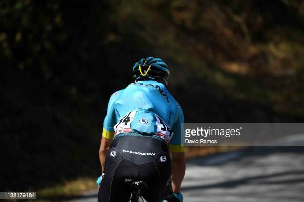 Davide Villella of Italy and Astana Pro Team / Feed Zone / during the Volta Ciclista a Catalunya 2019 Stage 1 a 164km stage from Calella to Calella /...