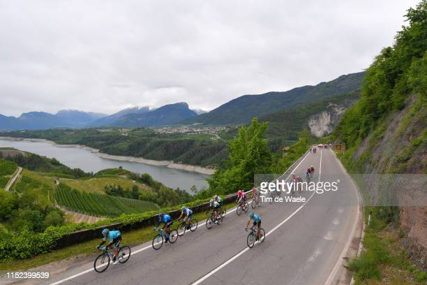 Davide Villella of Italy and Astana Pro Team / Hector Carretero of Spain and Movistar Team / Scott Davies of United Kingdom and Team Dimension Data /...