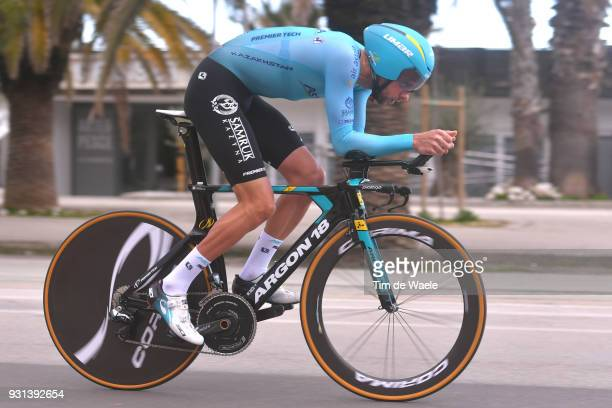 Davide Villella of Italy during the 53rd TirrenoAdriatico 2018 Stage 7 a 105km Individual Time Trial stage in San Benedetto Del Tronto on March 13...