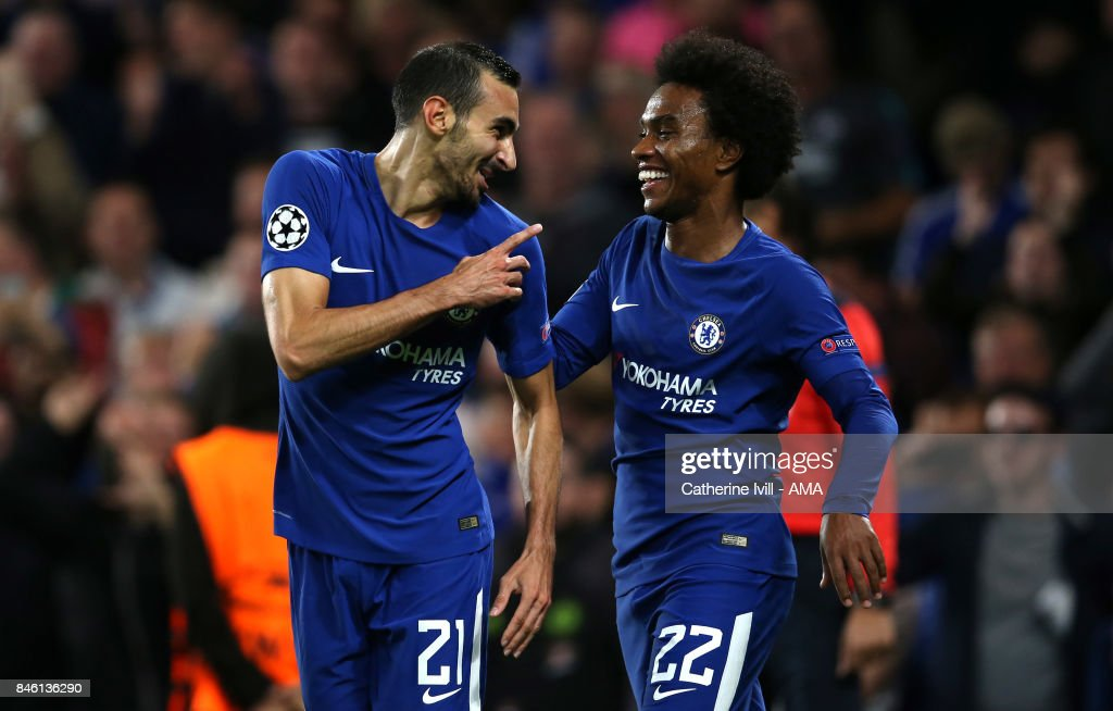 Davide Zappacosta Of Chelsea Celebrates After He Scores A